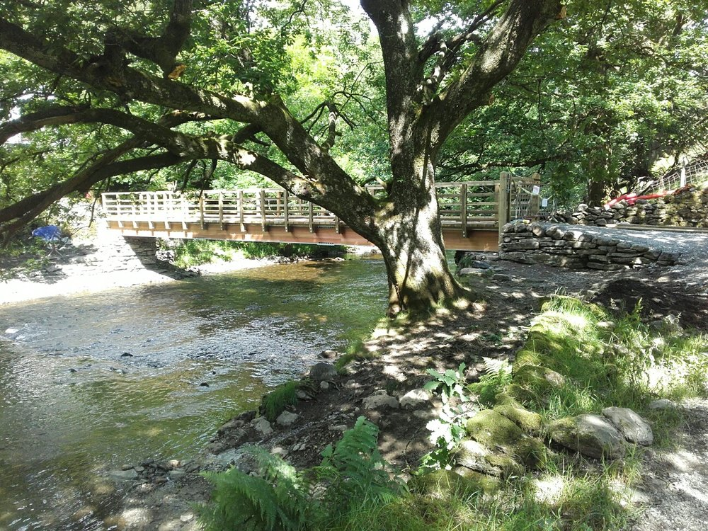 New bridge over the River Rothay at Rydal