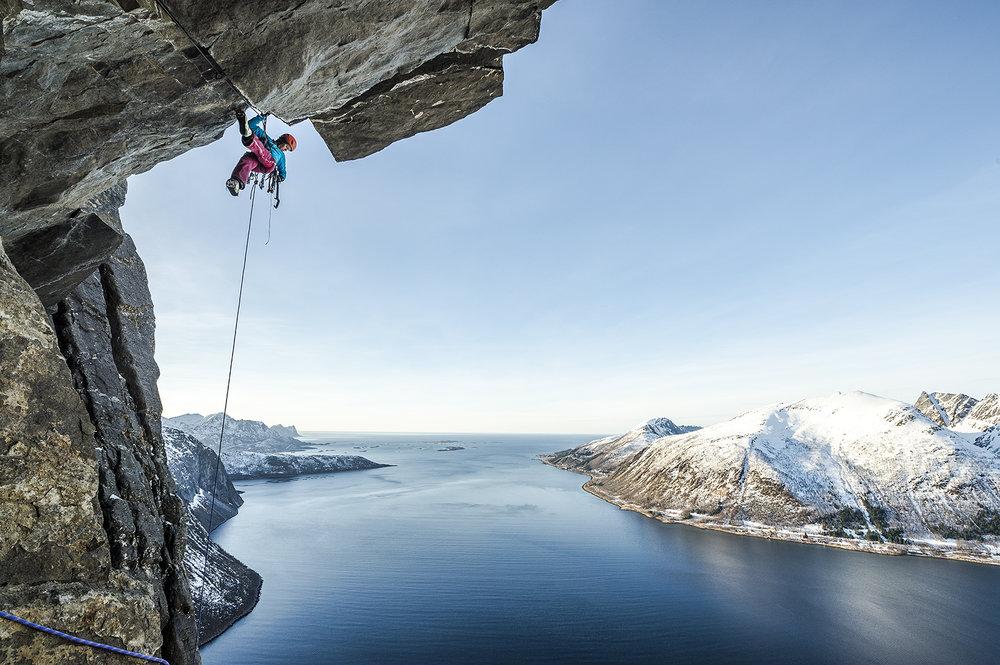 Ines Papert, Senja Island, Norway © Thomas Senf