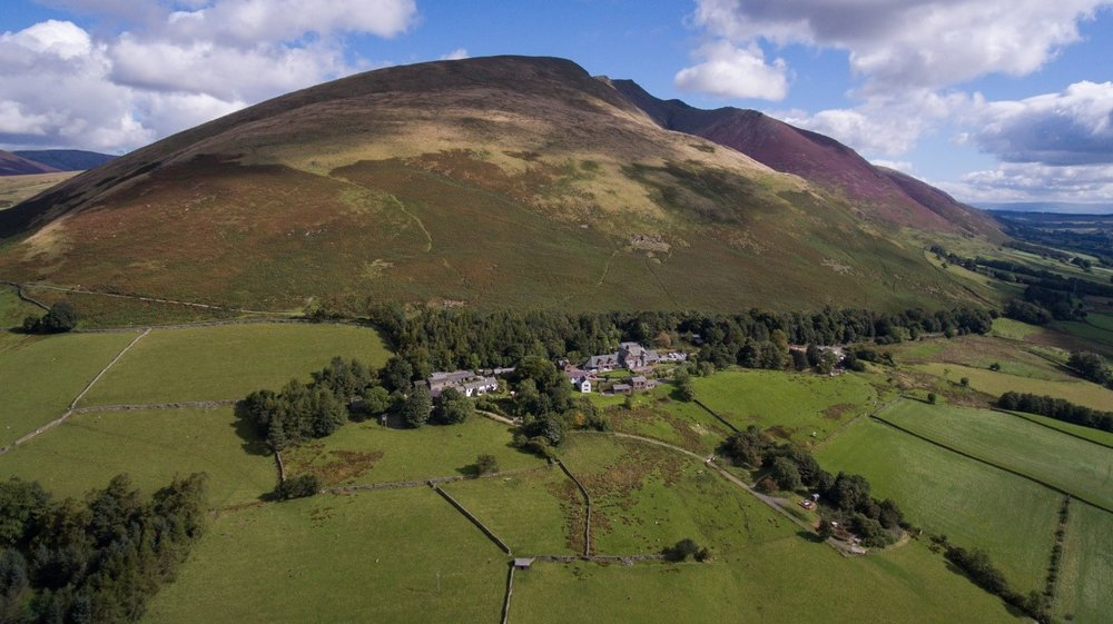 FSC Blencathra at the foot of the mountain that gives the centre its name. Photo by Terry Abraham