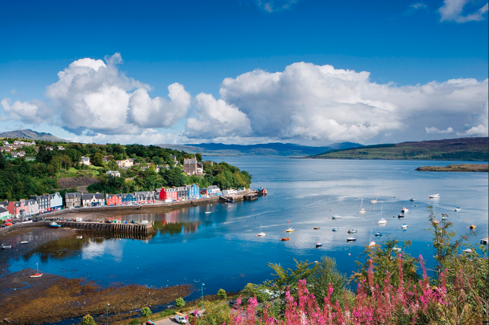 Tobermory, Isle of Mull, Argyll, Scotland.