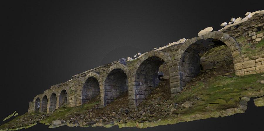 3d image Rosedale kilns by Dominic Powlesland