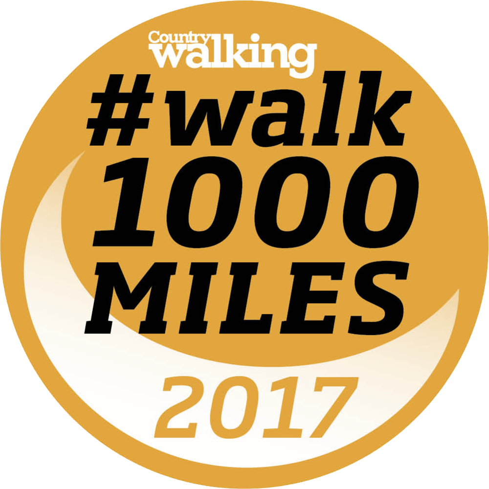 Walk 1000 miles home page