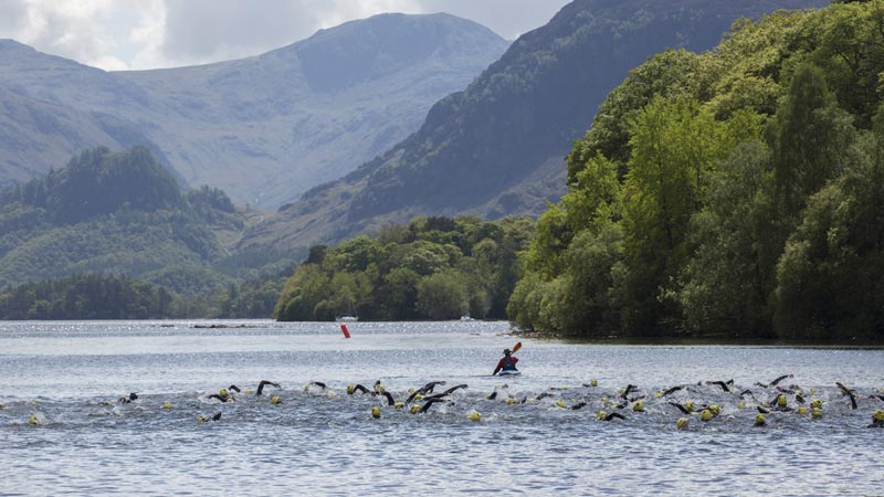 Junior athletes will get the chance to swim in Derwentwater during this year's Keswick Mountain Festival