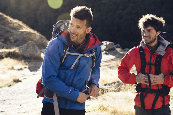 New Paclite jackets in the Berghaus range feature MADEKIND fabrics