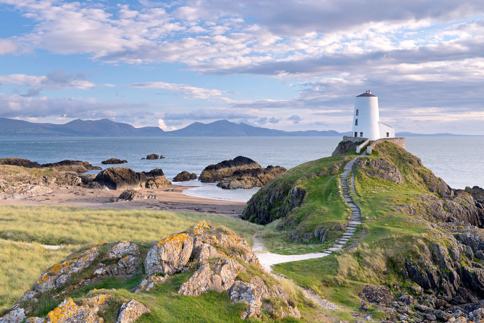 Mawr Lighthouse, Anglesey, North Wales