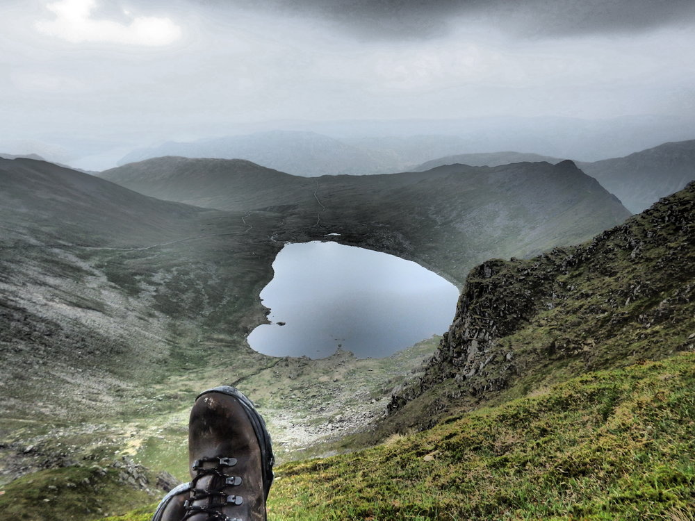 Bethan Costin at the top of Helvellyn.JPG