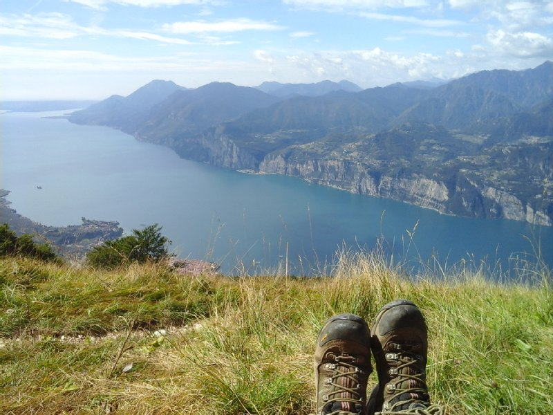 Jan Barker on Monte Baldo overlooking Lake Garda.jpg