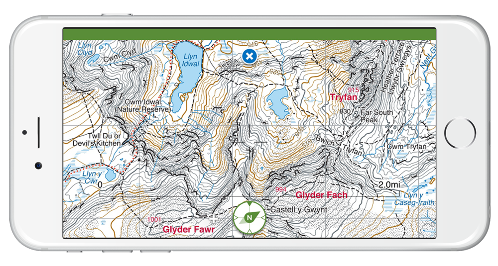 Harvey Maps Superwalker maps