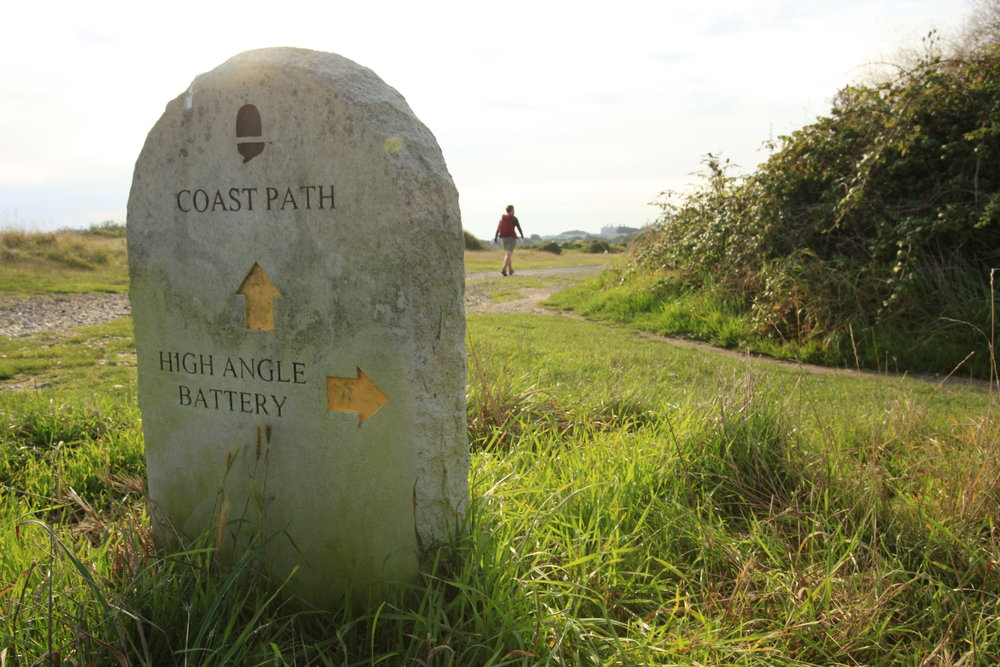 046 Coast Path Sign  Dorset Isle of Portland .JPG