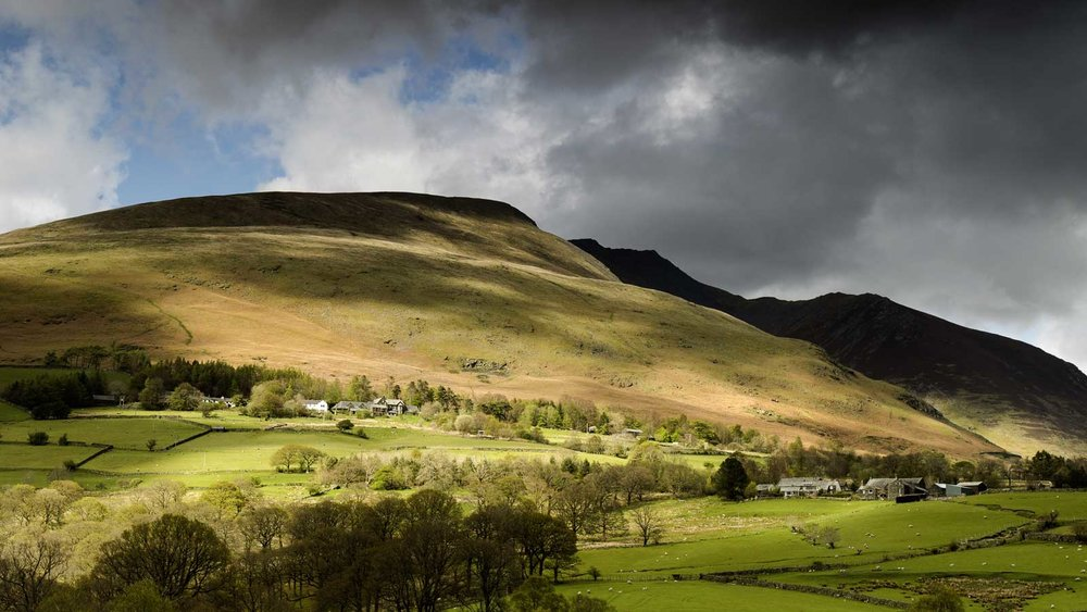 You could be here! Blencathra Field Studies Centre at the foot of the mountain. Photo by Terry Abraham, who will be there to present and talk about his latest film.