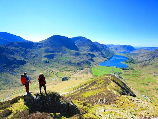 Is this the best view in the Lake District? You last chance today to read about the ridge leading to this fantastic sight.  #travel #landscape #photooftheday #health #fitness #nature #mountains #mountain #outdoors #life #getoutside #photography #uk #walking #adventure #keepmoving #hillwalking #visitbritain #explore_britain #greatbritain #lakedistrict #lakedistrictnationalpark #everestanywhere