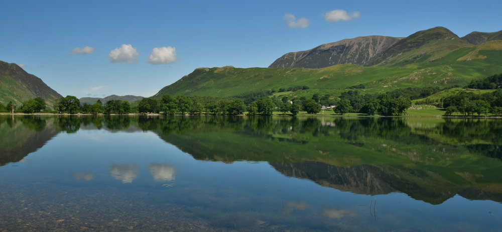 Perfect Buttermere Reflections