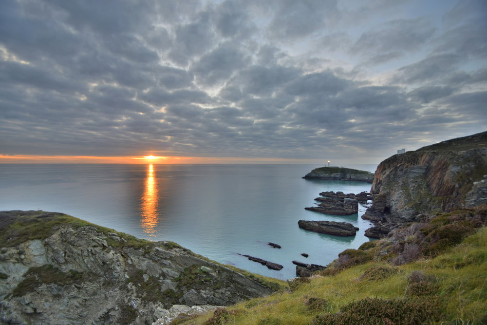 Sunset at South Stack on Anglesey