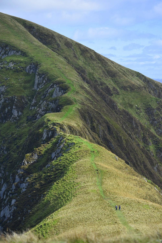 Walking the Nantlle ridge in Snowdonia.