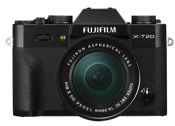 Rapid processing power  Taking on Fujifilm's top-end X-Processor Pro, the X-T20 can autofocus rapidly and record movies in 4K for stunning video quality.   Fantastic image quality  Taking on a large APS-C X-Trans CMOS III sensor, the X-T20 produces image quality comparable to enthusiast DSLRs, in a much smaller package.