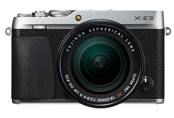 X-mount  Adopting Fujifilm's X-mount, users will benefit from the established Fujinon lens range which is currently 25 lenses strong and still growing.   Portability  Breaking new ground, the X-E3 is the smallest camera in Fujifilm's X series to feature both an interchangeable lens system and a viewfinder.