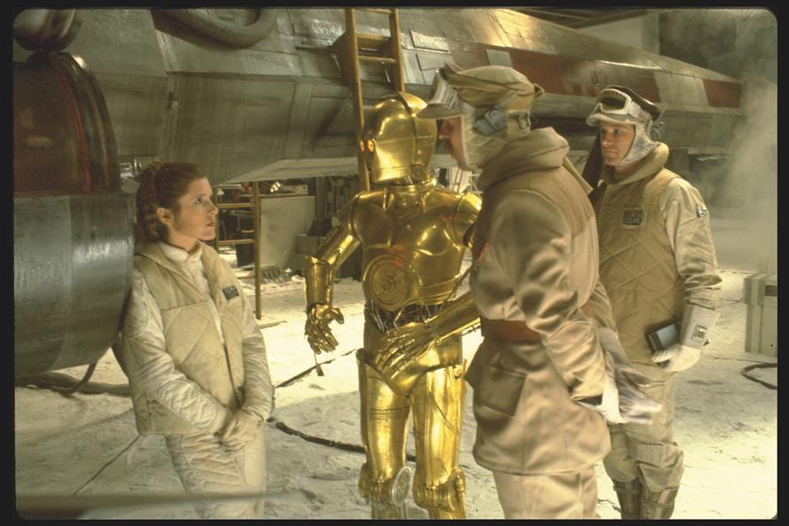 Princess Leia - The Empire Strikes Back (1980)