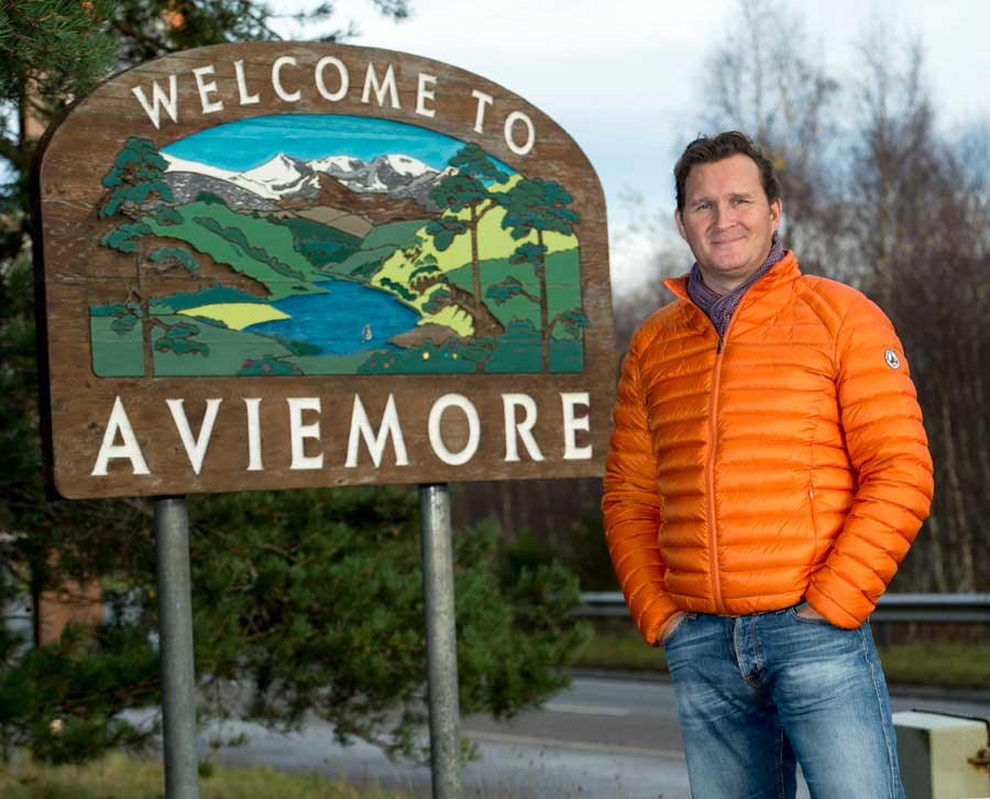 Tiso Group CEO, Chris Tiso, confirms the outdoor adventure retail specialist is to open in Aviemore in 2018