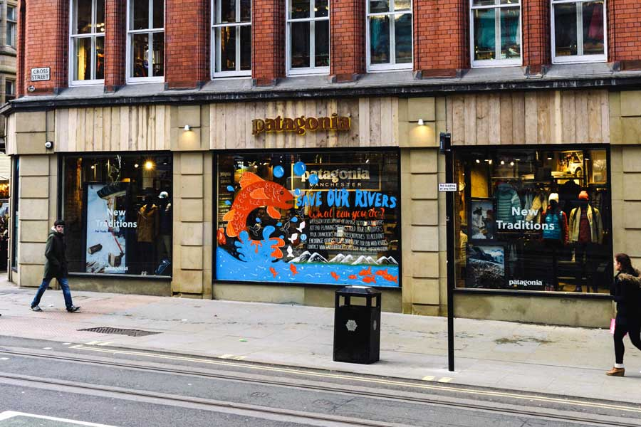 Patagonia's new Manchester store. Photo by Mike Sallabank.