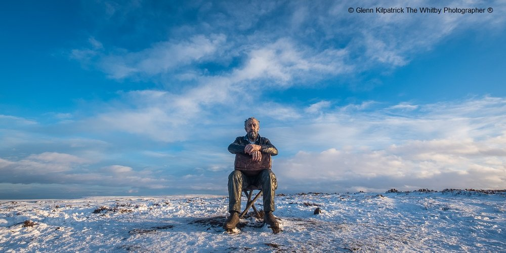 Man on the Moors by Glenn Kilpatrick, Runner up, National Parks Hidden Treasures Photography Competition 2018