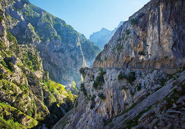 Often known as The Divine Gorge, the Cares Route through the Picos de Europa is one of the finest treks anywhere on the continent.