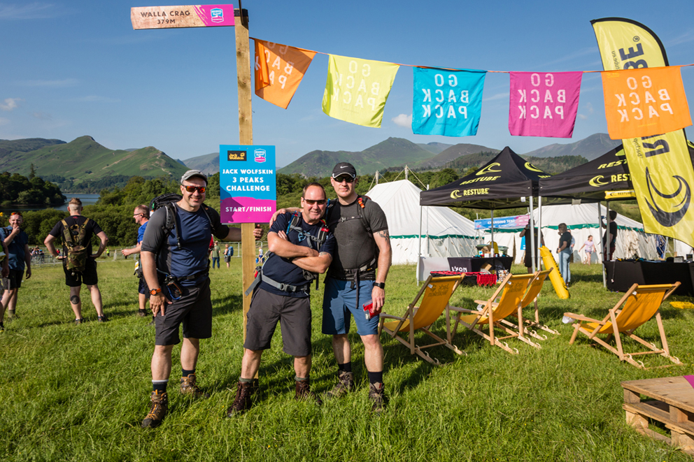 Walkers prepare for the Jack Wolfskin Keswick 3 Peaks Challenge at Keswick Mountain Festival.jpg