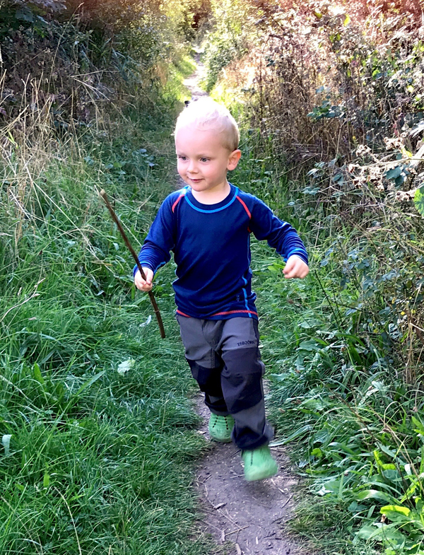 two year old Isbjorn brand ambassador Sonny Reed who is inspiring other children to enjoy outdoor activities.jpg