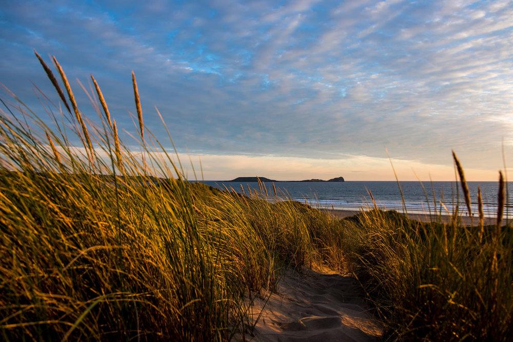 Rhossili Bay Beach (copyright Swansea Council)