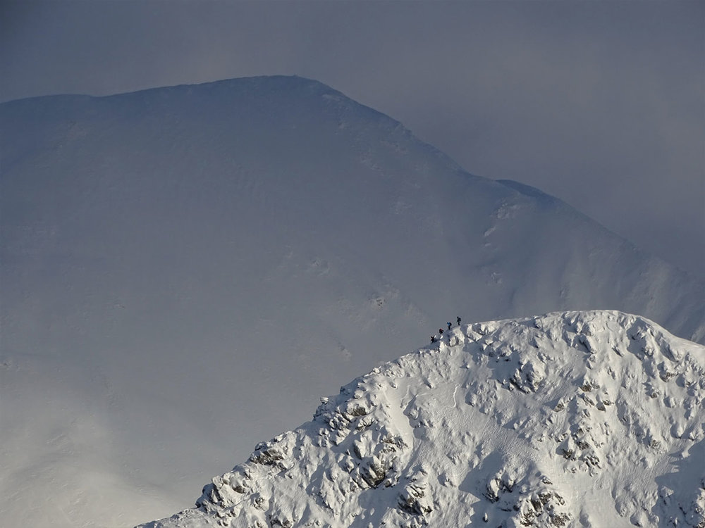 Stob Ban, Mamores, Central Highlands of Scotland, by Michael Eyton