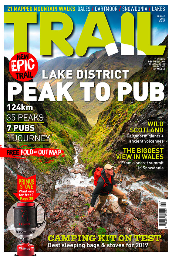 Trail magazine - Spring 2019 issue — Live for the Outdoors