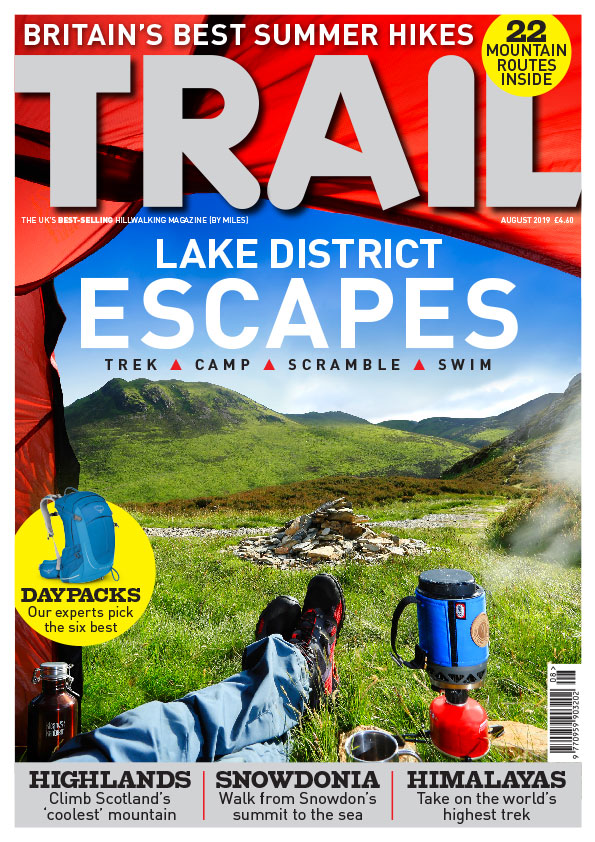 Trail magazine - August 2019 issue — Live for the Outdoors