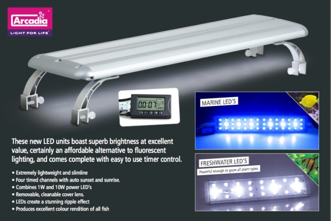 High Quality Arcadia Launches OTL LED High Power LED Lighting
