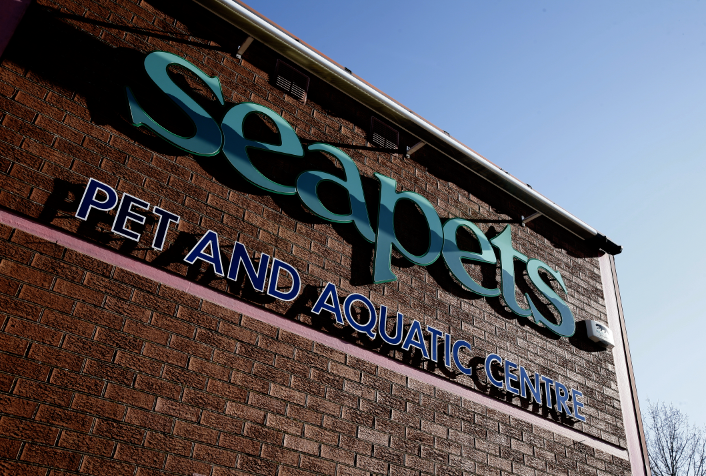 The Seapets store in Tollgate closed earlier this week.