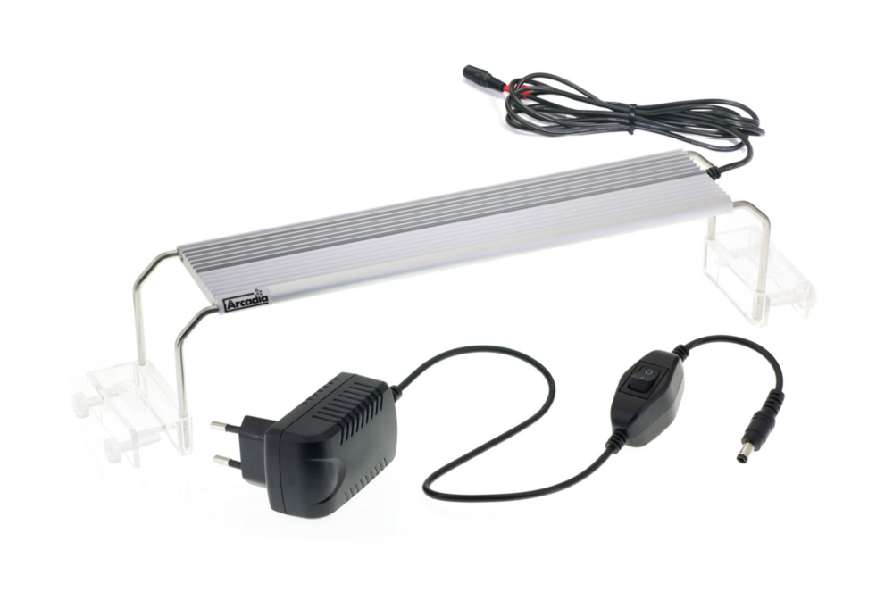 Arcadia's Tropical LED Blade aquarium light.