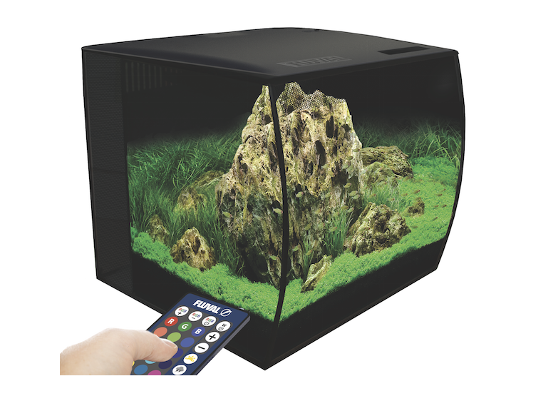 This stylish Fluval Flex aquarium could be yours!