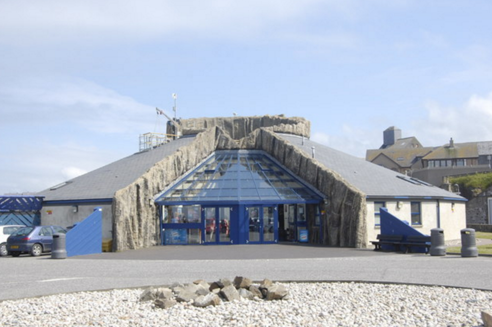 Image of Macduff Marine Aquarium by  Bill Harrison, Creative Commons.