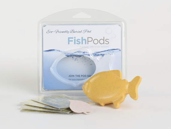 The Fish Pod offers children the opportunity to say goodbye to deceased pets properly.