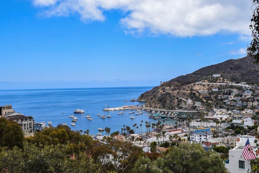 Catalina Island - Rent a bike or golf cart and see this beautiful island 22 miles off the coast.