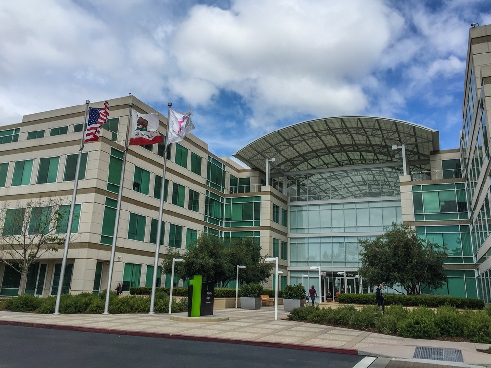 Cupertino - Apple world headquarters