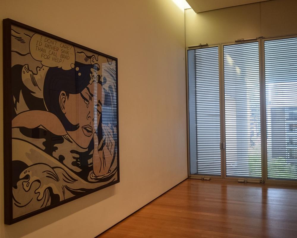 Lichtenstein in the hallway