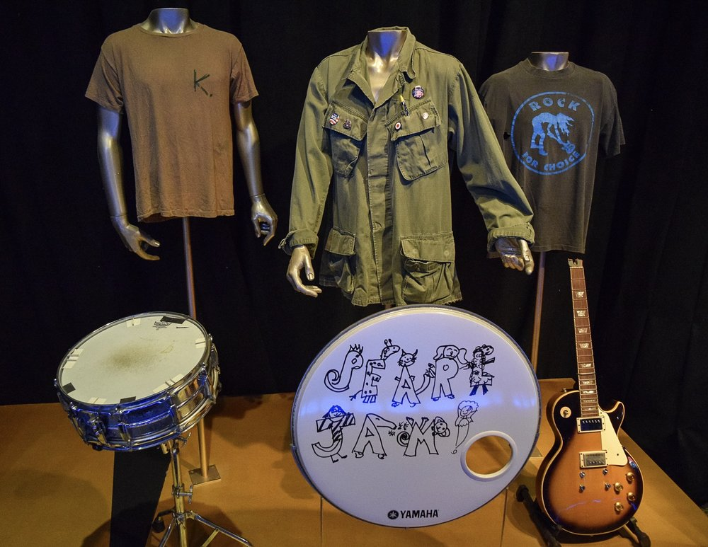 Pearl Jam selection from this year's inductees.