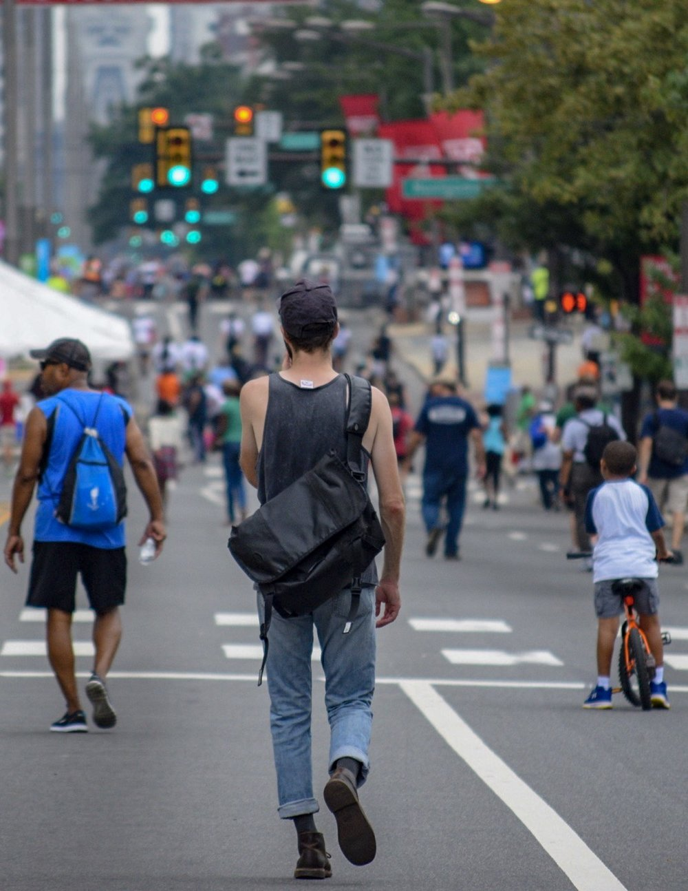 Philly Free Streets is a great way to walk, bike, or skateboard your way through a part of town you might not have visited before.