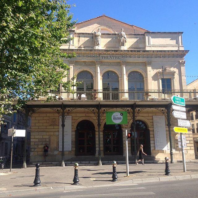 Le théâtre, et deux belles journées sur Denis Roche #denisroche #rencontresarles2016