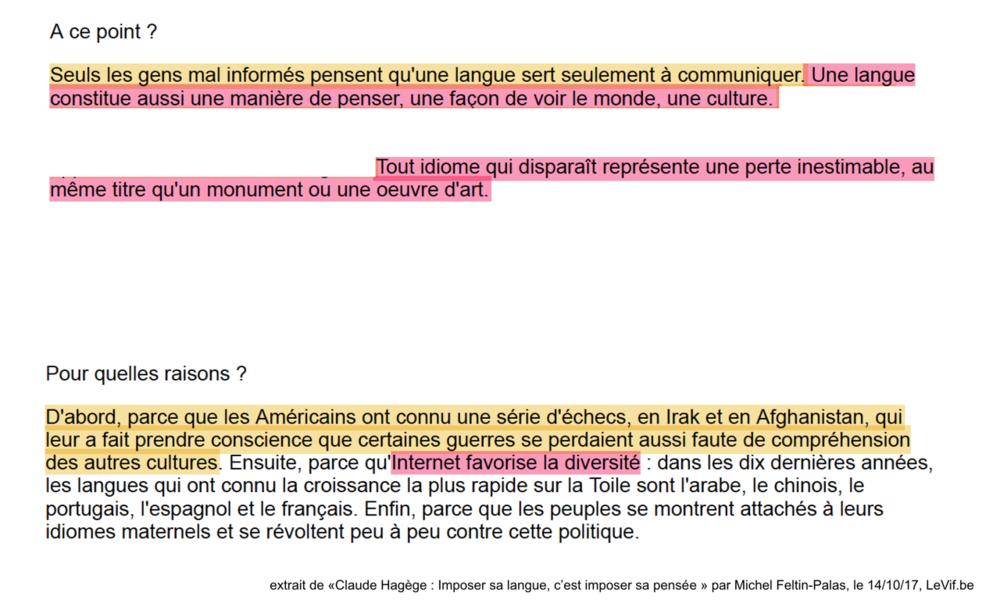12.Claude Hagège - _Imposer sa langue, c'e...poser sa pensée_ - Belgique - LeVif.be.png