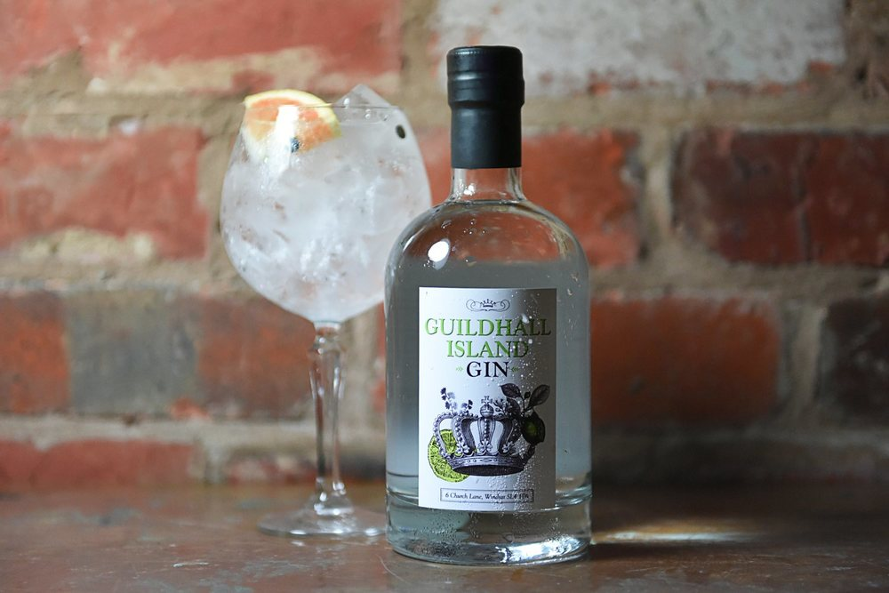 Guildhall Island Gin Bottle