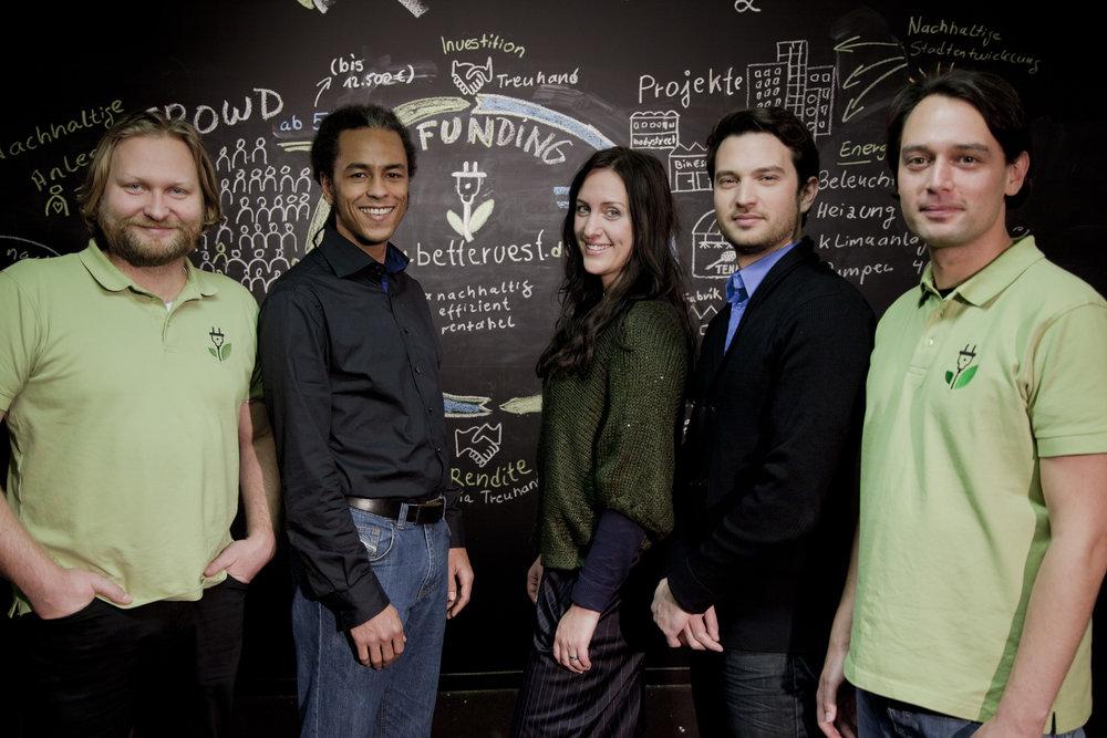 Das bettervest-Gründerteam