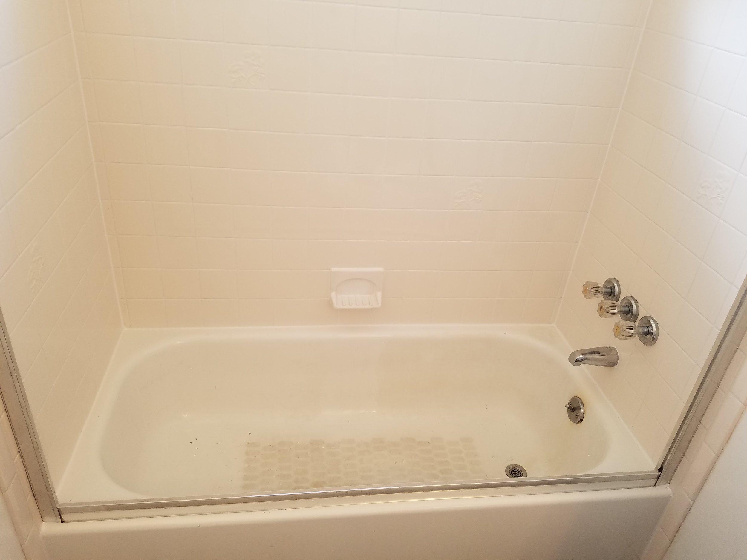 tile cleaning shower tub repair bathtub restoration caulking sealing grout works