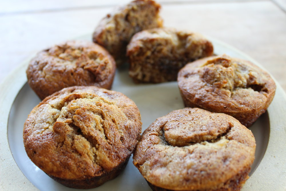 Banana Bread Muffins Variation (Cook for about 18 minutes)