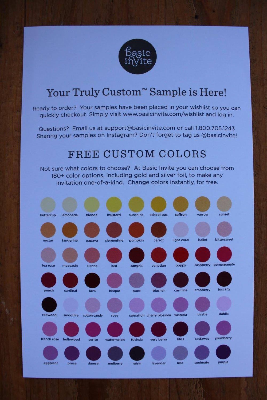 BasicInvite Colors1
