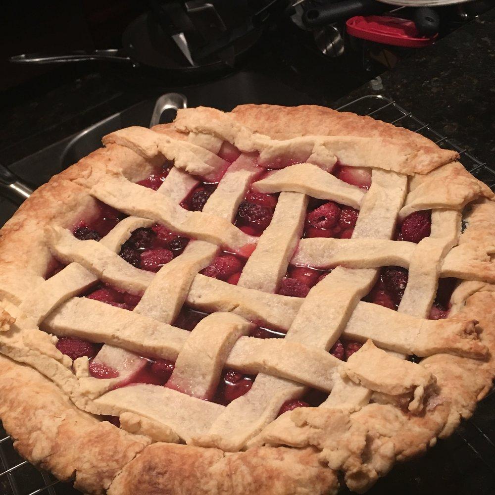 Mixed Berry Pie
